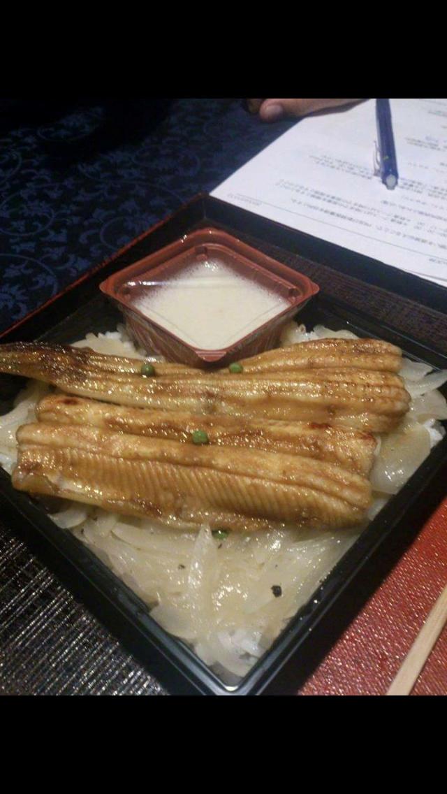 唐津の穴子丼!!!