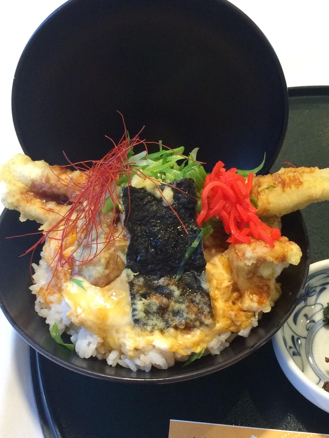 宮島インターの名物丼!