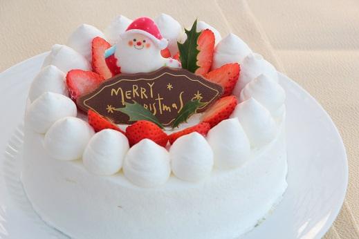 こだわりの素材で作ったクリスマスケーキ☆