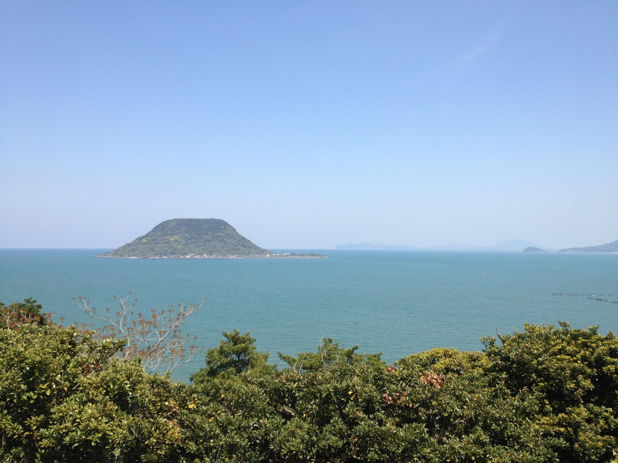 唐津城から見た風景♪