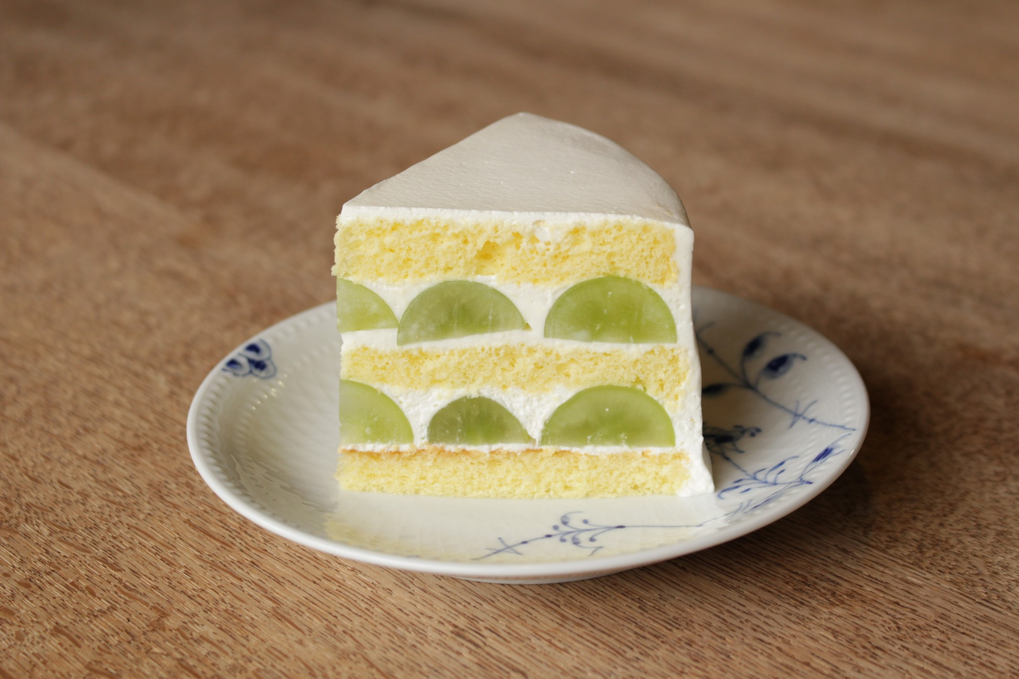 シャインマスカットのショートケーキ☆