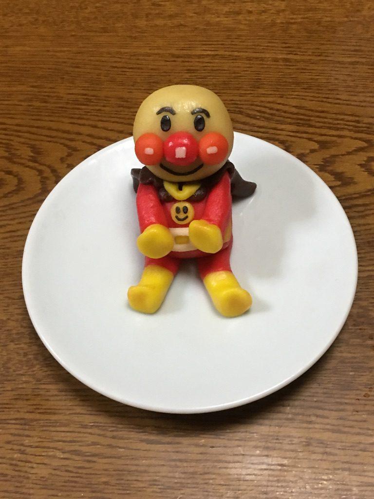 菓子細工のアンパンマン!