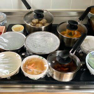 下準備した料理の一部