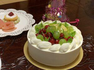 ケーキを作りました♪